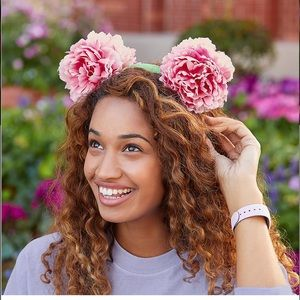 NWT DISNEY PARKS Mickey Mouse Floral Ears